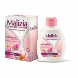 Malizia Detergente Intimo Marigold and Lotus Flowers 200ml Płyn do higieny intymnej